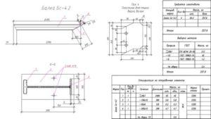 Разработка раздела КМД (стропильная балка)