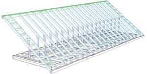 Разработка раздела КД. Стропильная система крыши